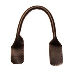 "18"" Suede Tote Handles Chocolate Brown 2/Pkg"
