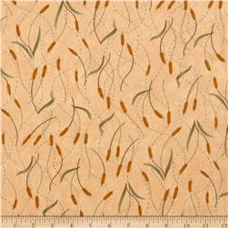 Moda Fall Impressions Flannel Cattails Sesame