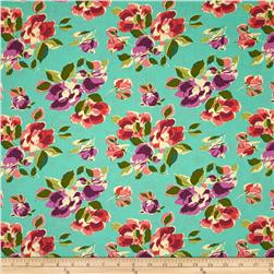 Amy Butler Bright Heart Natural Beauty Teal
