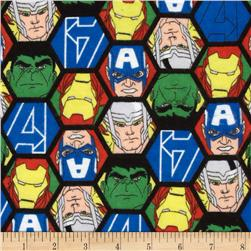 Marvel Comics Avengers Flannel Faces Multi
