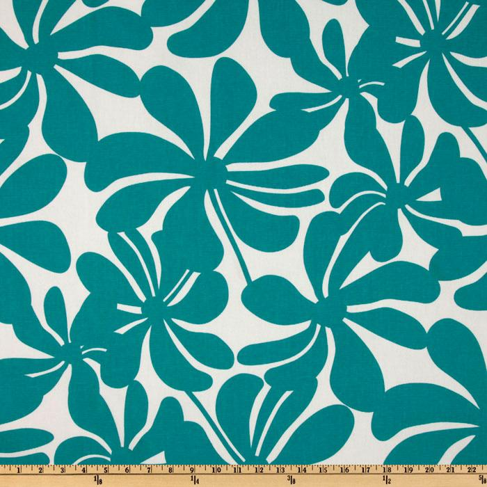 Premier Prints Twirly True Turquoise