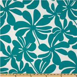 Premier Prints Twirly True Turquoise Fabric