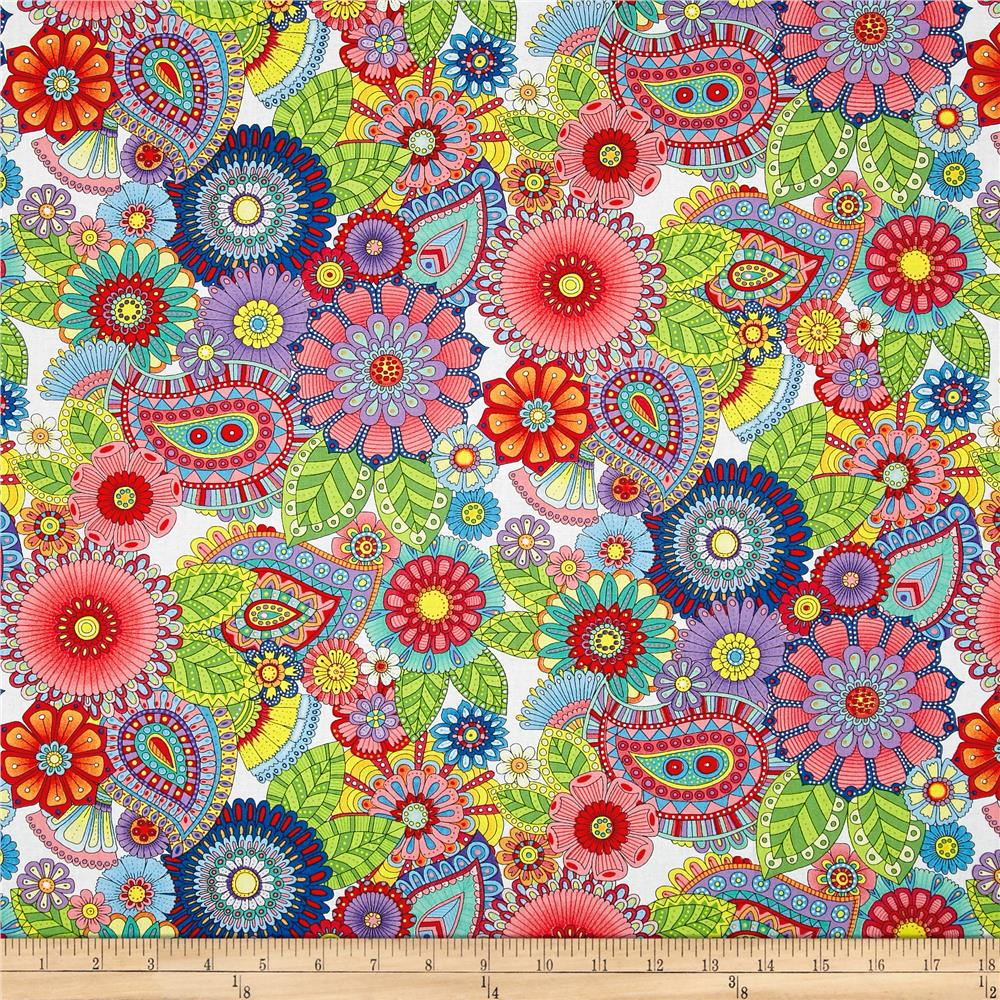 Wilmington prints designer cotton print fabric discount for Designer fabric store