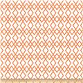 Riley Blake Lula Magnolia Lattice Orange