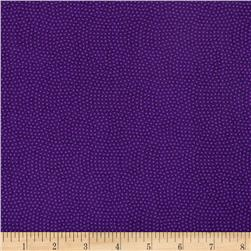 Timeless Treasures Spin Dot Violet