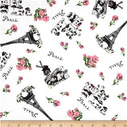 Jessie Steele Collection Paris Toile White