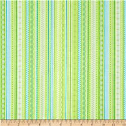 Kanvas What's The Scoop Tutti Frutti Lime Fabric