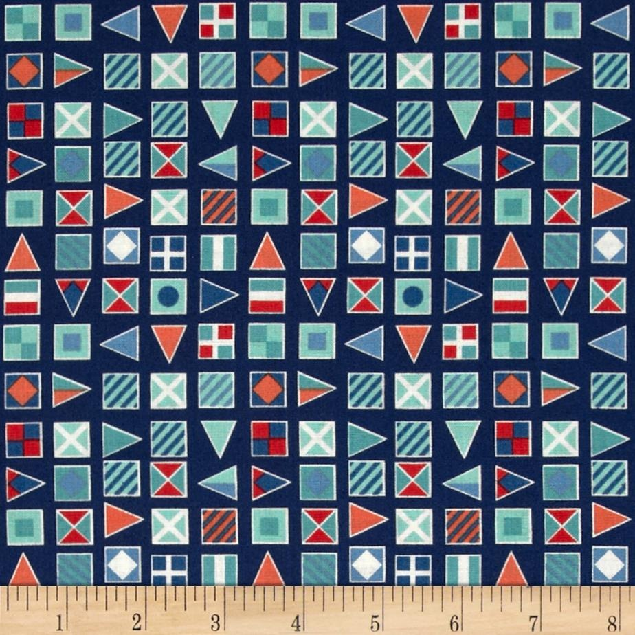 Nautical Flags Blue
