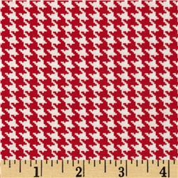 Spotlight Houndstooth Red/White