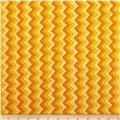 Moda Hello Fall Chevron Goldenrod