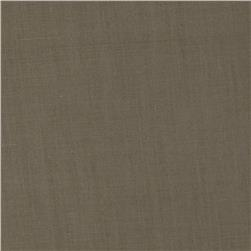 Cotton Poly Broadcloth Sage Grey Fabric