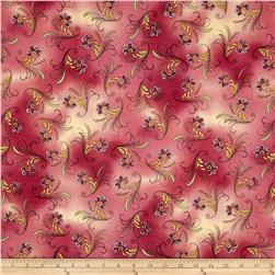 Sophia Paisley Light Cranberry