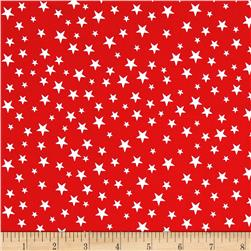 Riley Blake Lost & Found America Mini Stars Red