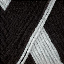 Red Heart Team Spirit Yarn (942) Black/Grey