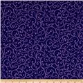 Imperial Paisley Scroll Navy