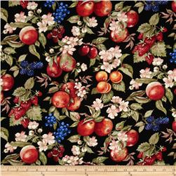Avignon Fruit & Flowers Black