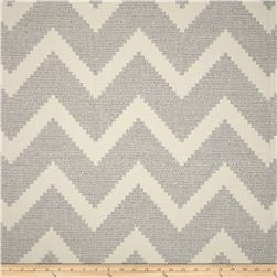P Kaufmann Indoor/Outdoor Chevron Jacquard Carrara Grey Fabric