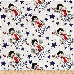 Red White & Boop Stars Navy