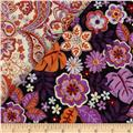 Cassandra Double Sided Quilted Orange/Pink