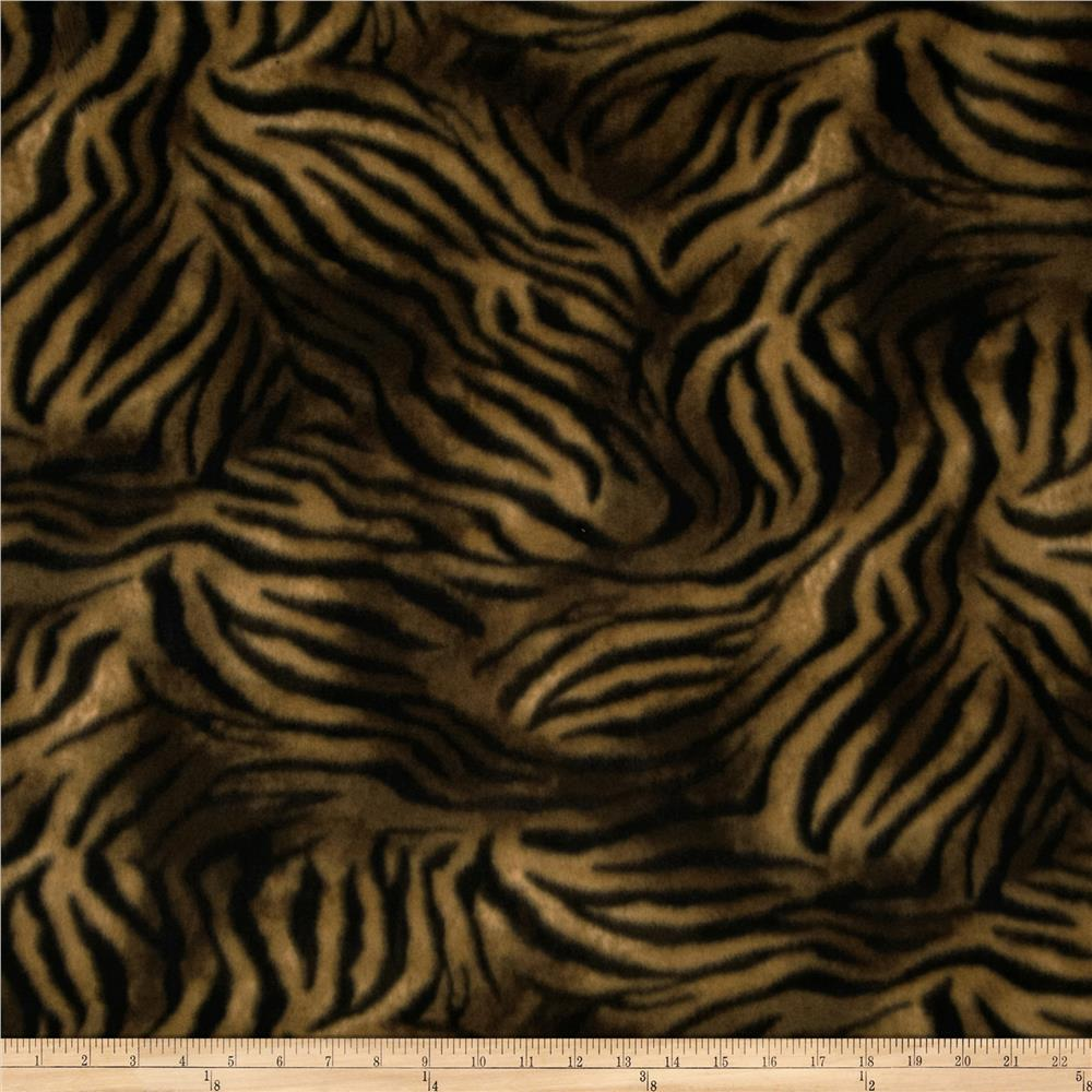 Animal Love Fleece Tiger Black/Tan