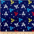 Minky Anchors Away Navy