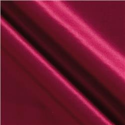 Kaufman Radiance Cotton/Silk Satin Cranberry