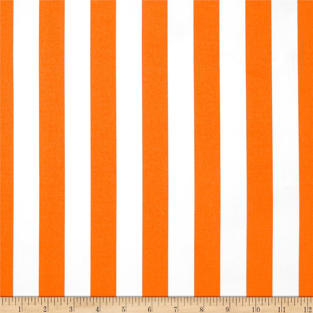 Michael Miller Bekko Home Decor Thin Stripe Tangerine