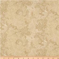 108'' Flourish Quilt Backing Ivory