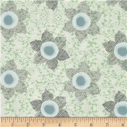 Ty Pennington Impressions 2013 Floral Slate Fabric