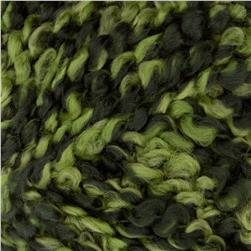 Bernat Soft Boucle'  Yarn (46227) Moss Shades