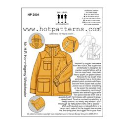 Hot Patterns Mr. H.P. Hemmingway Windcheater Pattern