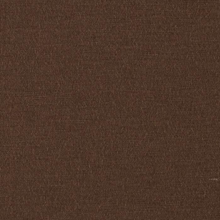 Stretch Rayon Blend Jersey Knit Brown