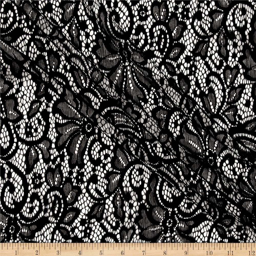 Flower Lace Black