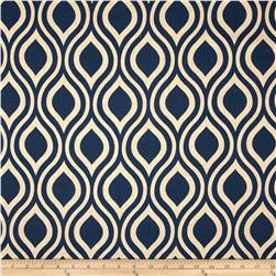 Premier Prints Emily Blend Indigo/Laken Fabric
