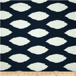 Premier Prints Chazz Slub Premier Navy Blue Fabric