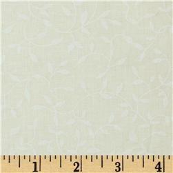 "108"" Wide Quilt Backing Printed Muslin Vines Natural"