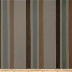 Fabricut Ridge Stripe Faux Silk Lagoon
