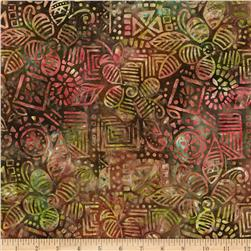 Michael Miller Batik Wood Block Fall Fabric