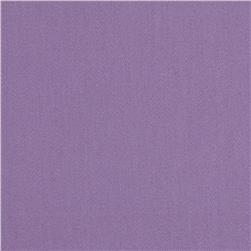Stretch Cotton Sateen Solid Lavender