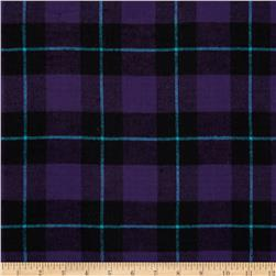 Flannel Plaid Purple/Black