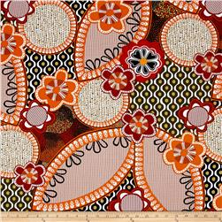 Kanvas Ecco Flower Rust