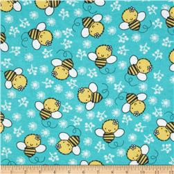 Flannel Tossed Bee Mint