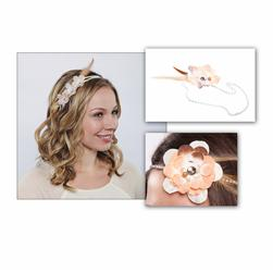 Laliberi Light Flowers & Feathers Headband Kit