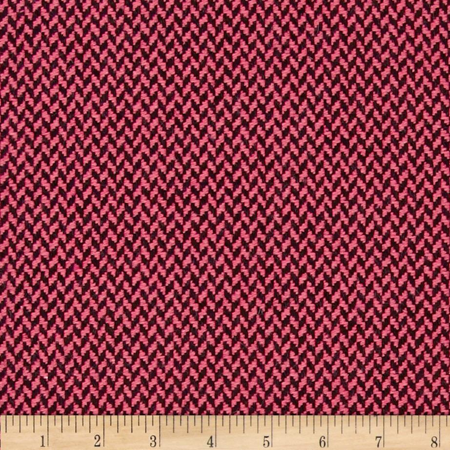 Wool Blend Coating Pink/Black