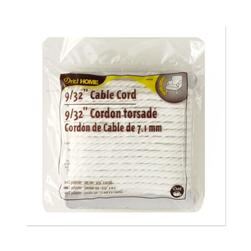 Cable Cord 9/32'' 10 Yards/Pkg White