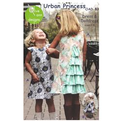 Olive Ann Designs Urban Princess Dress & Doll