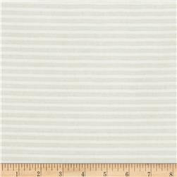 "Duralee 118"" Striped Sheers White"