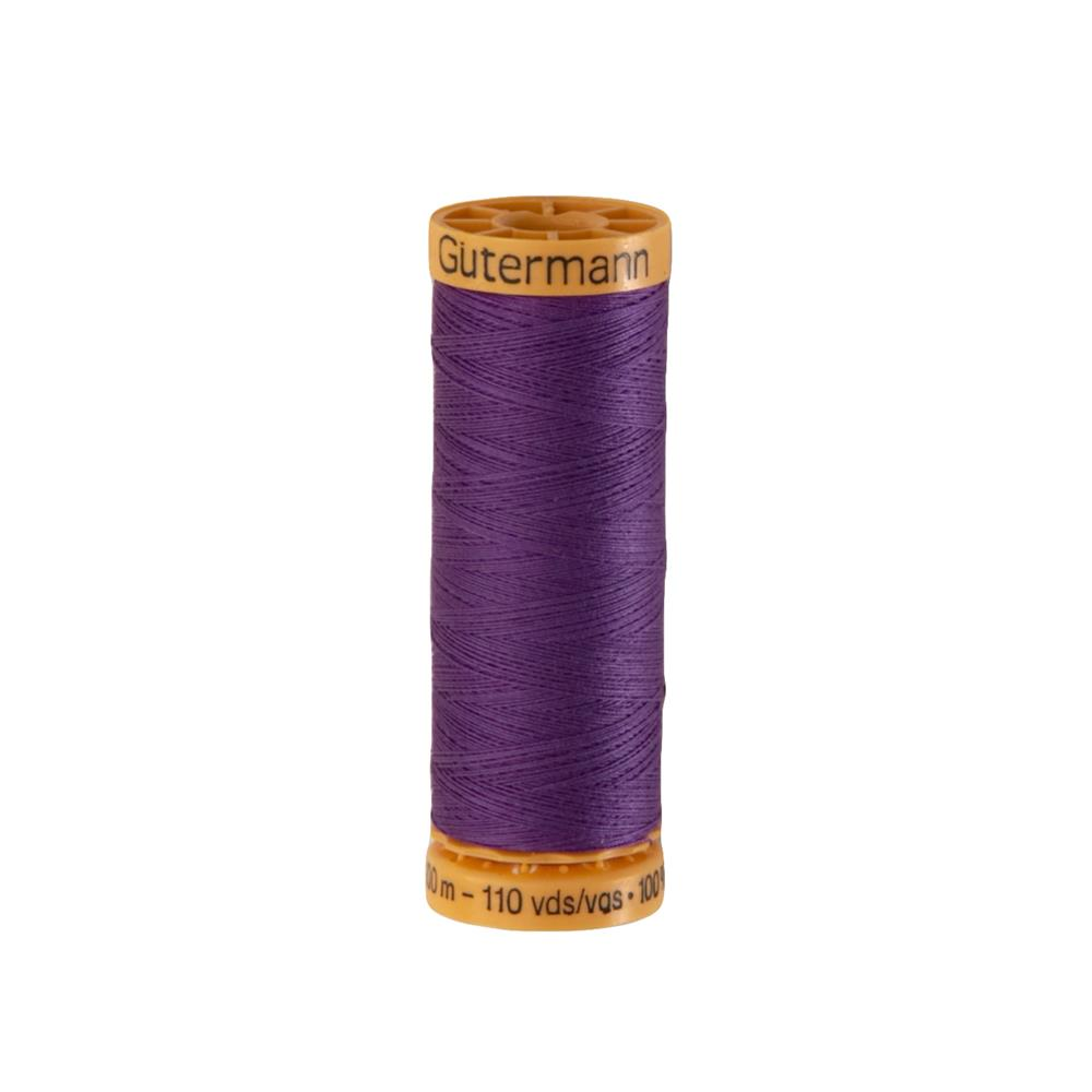 Gutermann Natural Cotton Thread 100m/109yds Grape