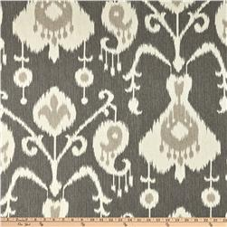 Magnolia Home Fashions Java Ikat Pewter Fabric