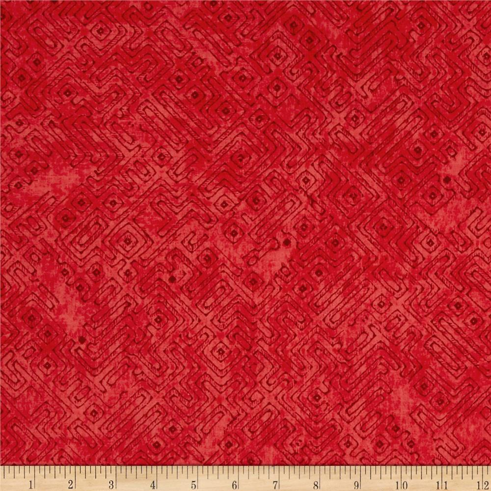 Native Spirit Tribal Blender Red